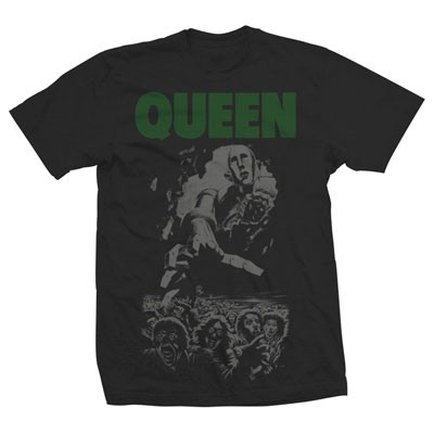 Queen/Queen Green Cover T-shirt Lサイズ[UIZZ-12858]