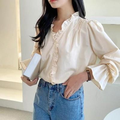レディース ブラウス Jasmine mini frill blouse