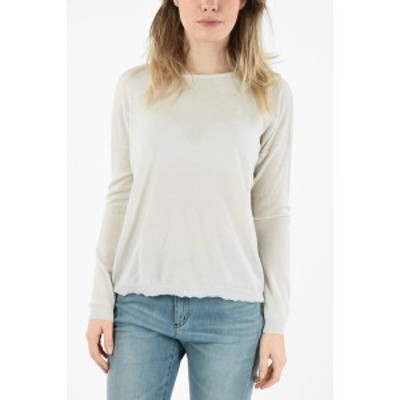 DUVETICA/デュベティカ White レディース Cashmere Crew-Neck HANG Sweater dk