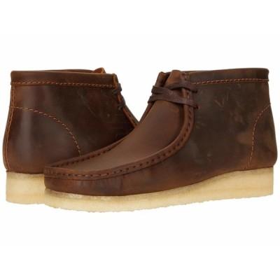 クラークス ブーツ&レインブーツ シューズ メンズ Wallabee Boot Beeswax