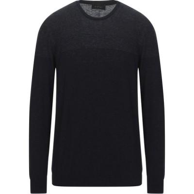 ディクタット DIKTAT メンズ ニット・セーター トップス Sweater Dark blue
