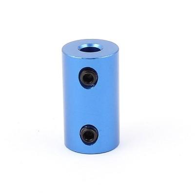 uxcell 5mm 5mm アルミ合金DIYモーター シャフトカップリングジョイントコネクタ
