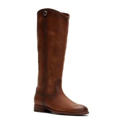 フライ Frye レディース ブーツ シューズ・靴 Melissa Button 2 Tall Leather Boots Cognac