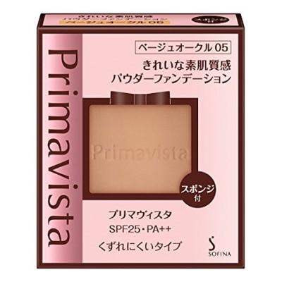 プリマヴィスタ きれいな素肌質感パウダーファンデーション ベージュオークル05 SPF25 PA++