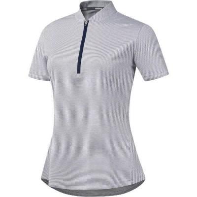 アディダス シャツ トップス レディース adidas Women's Advantage Novelty Golf Polo Indigo