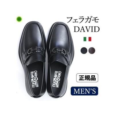 フェラガモ メンズ ローファー ビットモカシン ビジネス シューズ 靴 黒 ブラック ブラウン Salvatore Ferragamo 24 25 大きいサイズ 父の日 ギフト