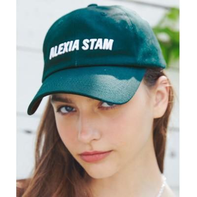 ALEXIA STAM / Embroidery Logo Cap/エンブロイダリーロゴキャップ WOMEN 帽子 > キャップ