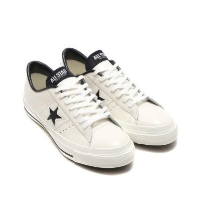 スニーカー CONVERSE コンバース ワン スター ジャパン / ONE STAR J (WHITE/BLACK) 32346510