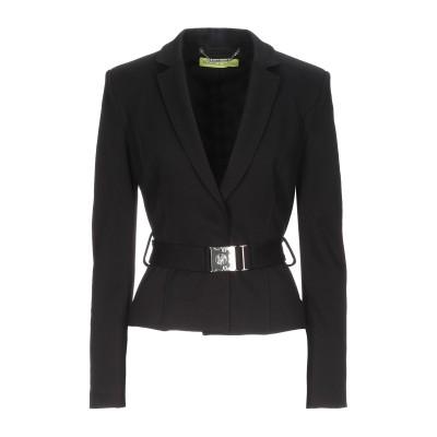 VERSACE テーラードジャケット ブラック 40 レーヨン 74% / ナイロン 23% / ポリウレタン 3% テーラードジャケット