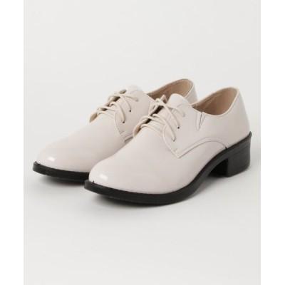 Shoes in Closet -シュークロ- / レースアップ オックスフォード 超軽量 マニッシュシューズ《ヒール約3.5cm》 7633 WOMEN シューズ > ドレスシューズ