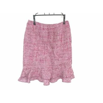 ルネ Rene スカート サイズ34 S レディース 美品 パープル×ピンク 刺繍【還元祭対象】【中古】20200912