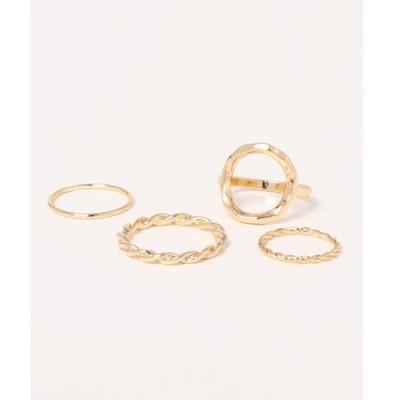 指輪 ラウンドアソートリング / LAKOLE