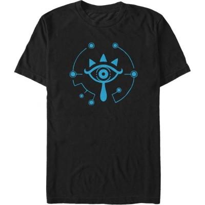 フィフス サン Fifth Sun メンズ Tシャツ トップス Nintendo Zelda Breath of the Wild Eye T-Shirt black