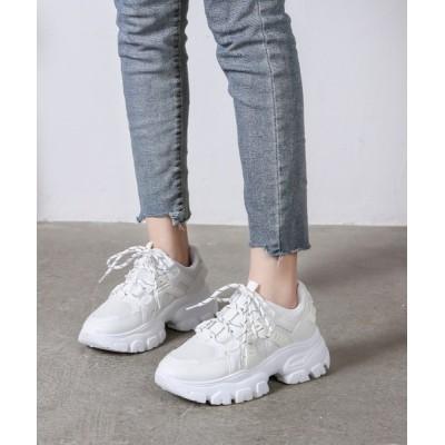 Shoes in Closet -シュークロ- / 軽量 厚底ダッドスニーカー《約6.0㎝ソール》 1475 WOMEN シューズ > スニーカー