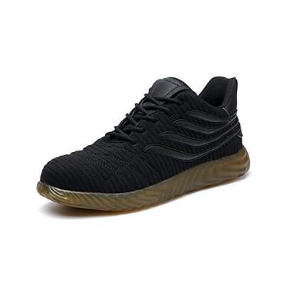 SYLPHID スチールつま先靴 作業安全靴 男女兼用 軽量 通気性 工業 建築 スニーカー パンク防止 フットウェア US サイズ: 10 Wome