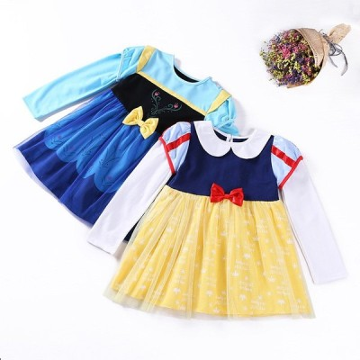 ハロウィン 子供 ドレス キッズ 長袖 ワンピース コスチュームドレス プリンセスドレス クリスマス プレゼント なりきり コスプレ
