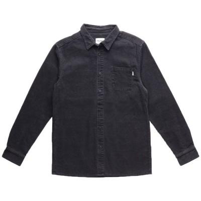 リズム メンズ シャツ トップス Rhythm Corduroy Long-Sleeve Shirt