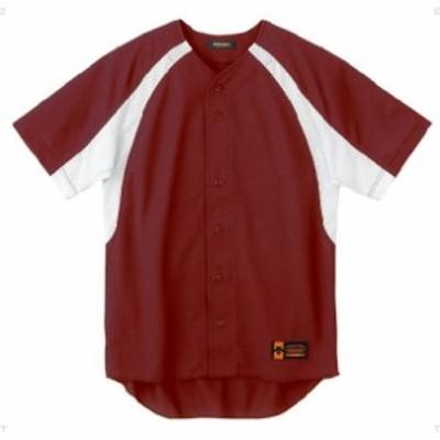 ユニフォームシャツ カラーコンビネーション【DESCENTE】デサントヤキュウソフトハンソデTシャツ(DB48M-ENG)