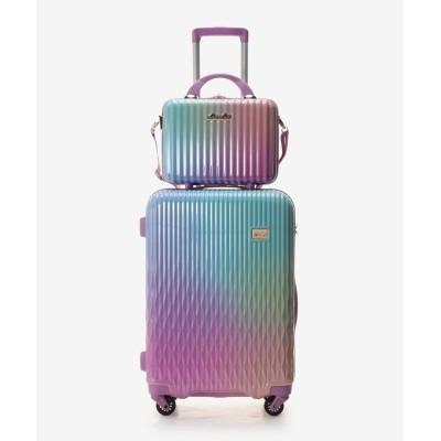 【アンドシュエット】 スーツケース≪Lunalux≫ 中 レディース ブルーパープル FREE & chouette