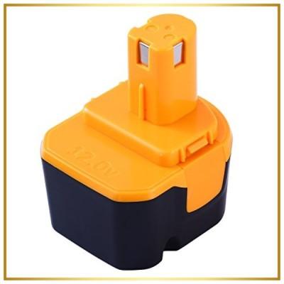 Hochstern 互換リョービ12vバッテリー B-1203M1 B-1203C B-1203F3 リョービ互換バッテリー12V 3000mAh 大容量 リヨービ バッテ