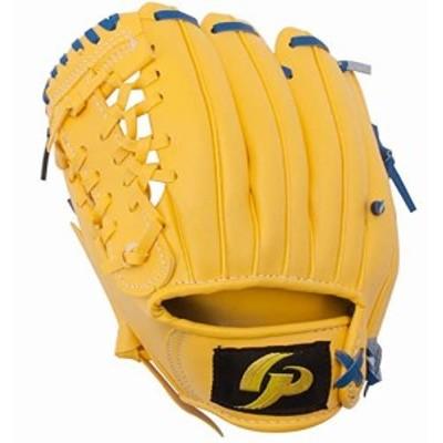 GP (ジーピー) 野球 グローブ 子供用 8インチ 左投げ 黄色 柔らかいボール付き 36949Y