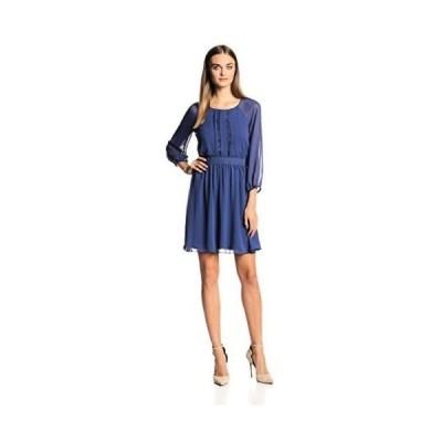 ドレス ジェシカシンプソン Jessica Simpson レディース ドレス・ワンピース JS4A6611 Raglan スリーブ. Blue Print