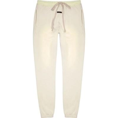 フィアオブゴッド Fear of God メンズ スウェット・ジャージ ボトムス・パンツ The Vintage off-white cotton sweatpants White