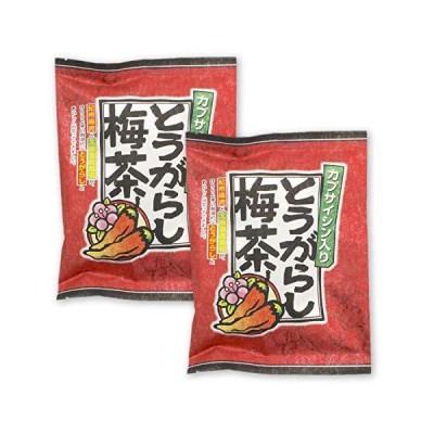 カプサイシン入りとうがらし梅茶 48g(2g×24袋)×2袋セット 紀州梅肉 北海道真昆布