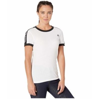 リーボック シャツ トップス レディース Linear Logo Tee White