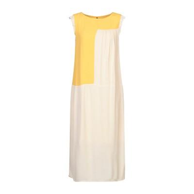 マニラ グレース MANILA GRACE 7分丈ワンピース・ドレス サンド 38 レーヨン 100% 7分丈ワンピース・ドレス