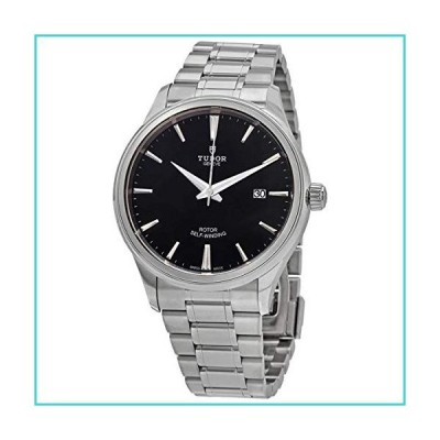 Tudor Style Automatic Black Dial Men's 41 mm Watch M12700-0002【並行輸入品】