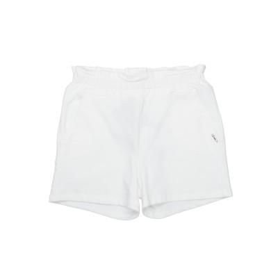リュー ジョー LIU •JO ショートパンツ ホワイト 10 コットン 95% / ポリウレタン 5% ショートパンツ
