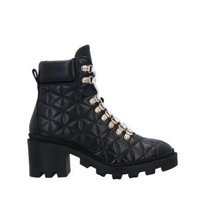 STOKTON ショートブーツ ブラック 36 牛革(カーフ) ショートブーツ