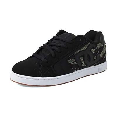 DC Men's NET SE Skate Shoe, Camo Black, 7 D M US