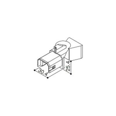 【YKK AP メンテナンス部品】 フリー連結具 (下) (HHK3-1976)