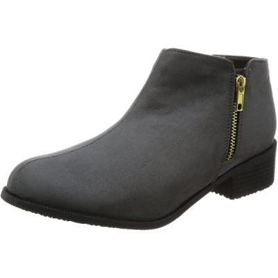 [ハッシュドコーデ] ブーツ SP3276 グレー 23.5~24.0 cm 2.5E