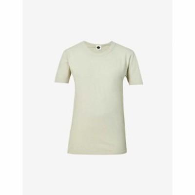 ベイシーク BASSIKE レディース Tシャツ スクープネック オーガニックコットン トップス Heritage Scoop-Neck Organic Cotton T-Shirt Se