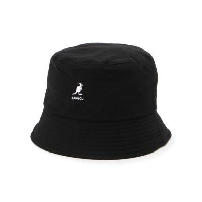 (LHP/エルエイチピー)KANGOL/カンゴール/SMU Nylon Bucket Hat/ナイロンバケットハット/メンズ BLACK