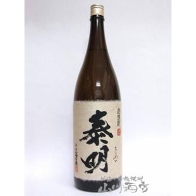 泰明 ( たいめい ) 麦焼酎 25度 1.8L 6本セット / 大分県 藤居醸造【 1748 】 【 まとめ買い 】