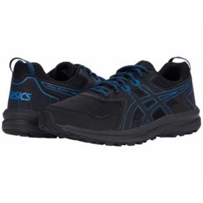 ASICS アシックス メンズ 男性用 シューズ 靴 スニーカー 運動靴 Trail Scout Black/Reborn Blue【送料無料】