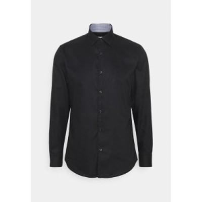 セレクテッドオム メンズ シャツ トップス SLHSLIMNEW MARK - Formal shirt - black black