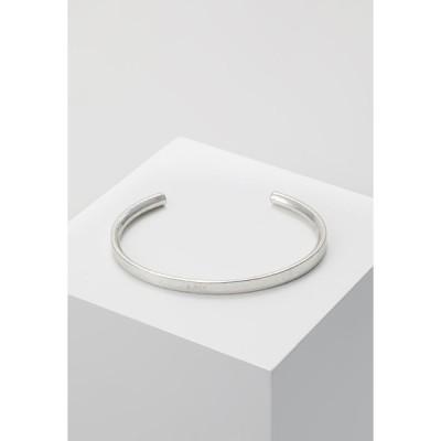 アイコンブランド ブレスレット・バングル・アンクレット メンズ アクセサリー Bracelet - silver-coloured