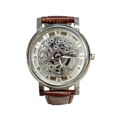Braceus Genuine Bracelet Watch Men Fashion Business Roman Numerals Sports Clock Faux Leather Quartz Wrist Watch, Fashion Casual Watches for