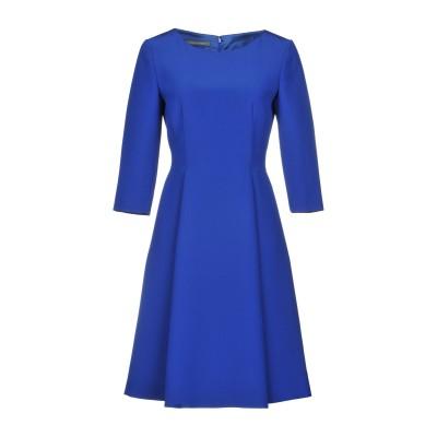 アルベルタ フェレッティ ALBERTA FERRETTI ミニワンピース&ドレス ブルー 42 100% シルク ミニワンピース&ドレス