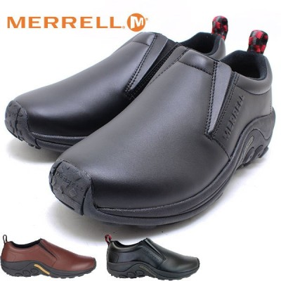 MERRELL メレル JUNGLE MOC LEATHER ジャングル モック レザー メンズ BLACK DARK BROWN