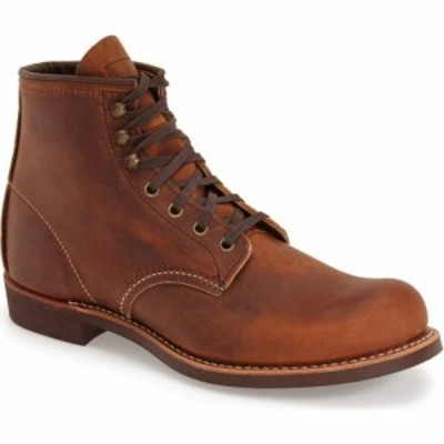 レッドウィング RED WING メンズ ブーツ シューズ・靴 Blacksmith Boot Copper Leather