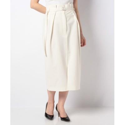 (LAPINE BLEUE/ラピーヌ ブルー)【洗える】ルイーズタイトスカート/レディース ホワイト