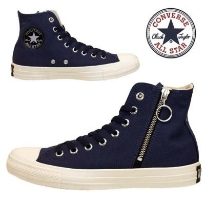 コンバース CONVERSE ALL STAR BLACKZIP HI 1SC496 紺 オールスター ブラックジップ ハイ レディース/メンズ