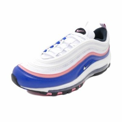 スニーカー ナイキ NIKE エアマックス97 ホワイト/ゲームロイヤル/ピンクゲイズ 921826-107 メンズ シューズ 靴 19HO