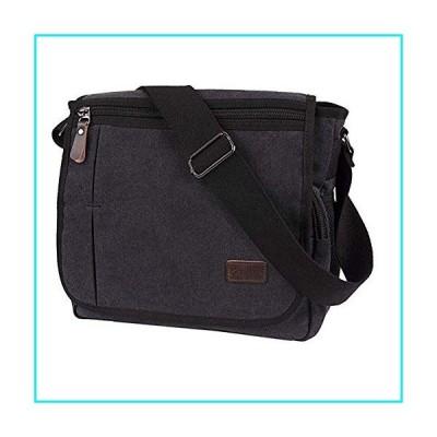 Laptop Messenger Bag for Men, Modoker Mens Canvas Vintage Shoulder Satchel Crossbody Bags Military for Laptop Computer for Women College School Work B
